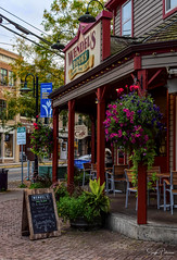 Wendel's Cafe & Bookstore - Fort Langley Village (SonjaPetersonPh♡tography) Tags: langley fortlangley townshipoflangley bc britishcolumbia canada town tourists shops gallery restaurants quaint village antiques gloverrd fraserriver parks