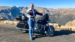 20180916 iPhone7 Colorado 157 (James Scott S) Tags: iphone motorcycle rental eagle riders hd harley davidson ultra classic touring rider biker co colorado pikes peak rocky mountains mount evans spirit lake travel wanderlust candid trail ridge road continental divide great