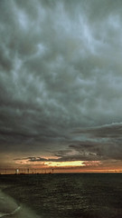 El mar llama (pedrohdezktun) Tags: celestún atardecer sunset mar sea stunning clouds nubes océano ocean méxico yucatán playa beach verano summer