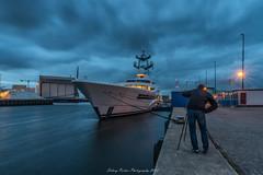 Super jacht Anna in Harlingen op zaterdag 18 augustus 2018 tijd 21:28 (sidneyportier) Tags: harlingen superjacht jacht boot ship superjachtanna