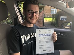 Massive congratulations  to Damon Bates passing his practical driving test with only 3 minor faults!   www.leosdrivingschool.com