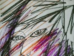 eyes (SaT>NaRaYaN>) Tags: ramona flowers charcoal pencil charcoalpencil artdraw drawing art draw design sketch ramonaflowers