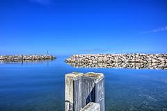 Hafen in Lohme / Rügen (HDRforEver) Tags: photomatix hdr karsten höltkemeier canon 5dmark3 5dmarkiii 5d mark3 markiii sea sky bluesky harbor port hafen lohme ruegen rügen germany deutschland blue new interesting