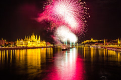 Hungarian national day (werner boehm *) Tags: wernerboehm budapest firework hungary ungarn donau danube