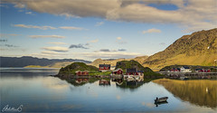 Fishing Hamlet on Magerøya, Norway (AdelheidS Photography) Tags: adelheidsphotography adelheidsmitt adelheidspictures norway norge noorwegen noruega norwegen norvegia nordic norvege norden northnorway magerøya honningsvåg northcape 71° fishingvillage village sea coast