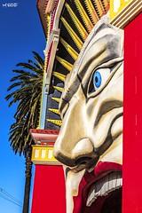 Smile (red stilletto) Tags: stkilda stkildamelbourne stkildabeach lunapark lunaparkstkilda amusementpark