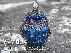 Ikoko Yemoja Ibu Aro For inquires, please send An email to OrisaCouture@aol.com #ikoko #yemoja #yemaya #ibuaro #ibualaro #orisa #orisha #oricha #lukumi #lucumi #santeria #yoruba #diaspora #orisacouture (Orisa Couture Custom Beading) Tags: ikoko yemoja yemaya ibuaro ibualaro orisa orisha oricha lukumi lucumi santeria yoruba diaspora orisacouture