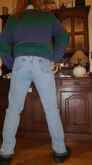 One pene on my ass? Or meaby two??? I need help!!! (Ray Vald s) Tags: ass bulge jeans jeansbulge bulto