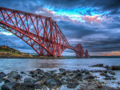 What will the future transport be like? (RS400) Tags: hdr edit wow cool amazing travel transport clouds stones stone forth road bridge sky blue red water river sea uk photography olympus landscape rail