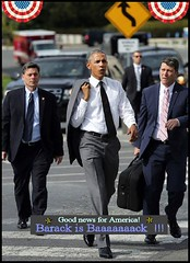 Barack Obama is baaaack! (FolsomNatural) Tags: obama campaign walking barack america style