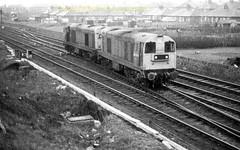 Falkland 20209'20199 mid 80's (Ernies Railway Archive) Tags: ayr falklandyard gswr lms scotrail