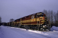 A Late Departure (ac1756) Tags: wisconsincentral wc wcl emd sd45 6497 sooyard otiac saultstemarie michigan