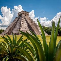 Chichen Itza Mexico (makeourmomentskochi) Tags: nature travel weather photos plants art antique gardens traveling hiking tours trips flowers yucatan