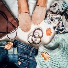 autumn mood.... (sonja-ksu) Tags: clothing fall female set photography i stilllife walks autumn inspired