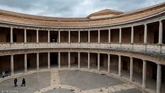 Palacio de Carlos V (oeyvind) Tags: palaciodecarlosv andalucía españa الْحَمْرَاء granada spain esp