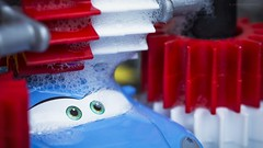 Bathtime. HMM!! (ChusPS) Tags: macromondays cogwheel color macro toy photo nikon tamron90mm light details