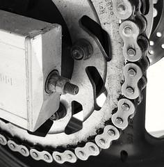 2-wheel passion (Mam0369) Tags: hmm cogwheel moto motorbike passion twowheels macromondays
