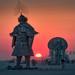 samurai sunrise