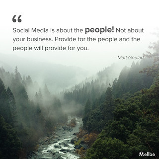 Social media is about the people!