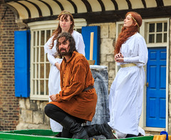 York Mystery Plays 2018 (alh1) Tags: cainabel collegegreen thelordsofmisruleforthecompanyofmerchanttaylors waggonplays yorkmysteryplays2018 england northyorkshire york