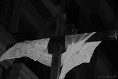 IMG_1291 (PhotoAlvaro97) Tags: semanasanta semanasantamurcia ssantamurcia18 holyweek procesión procession murcia españa spain viernessanto servitas negro black blackwhite blackandwhite canon canon1300d canonistas colours noche night nazareno nazarenos
