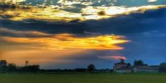 Novara (michelecarbone900) Tags: novara sunset tramonto sky clouds