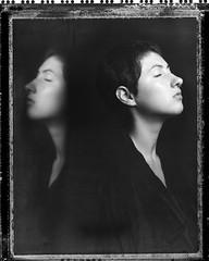 L. (denzzz) Tags: portrait polaroid55 negativescan blackwhite blackandwhite skancheli analogphotography filmphotography instantfilm wista45dx 4x5 largeformat fujinona 180mm walimex daylight1260