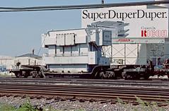 N&W 70101 (Chuck Zeiler) Tags: nw 70101 railroad railway freight car flatcar flat chicago train chuckzeiler chz