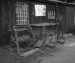 Alfred Matty & Sons (explored 28/08/18) (DH73.) Tags: old workshops black country museum dudley tipton coseley west midlands industrial buildings ilford pan f 100asa monochrome balackandwhite bw id11 11 11mins 70°f home process 6x7 rangefinder camera 100mm mamiya press lens