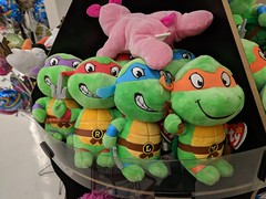 August 29: Turtles (earthdog) Tags: 2018 animal turtle toy stuffedanimal store shopping luckys grocerystore tmnt teenagemutantninjaturtle ty googlepixel pixel androidapp moblog cameraphone project365 3652018