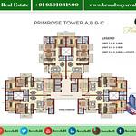 Ambika Florence Park Mullanpur Floor Plan