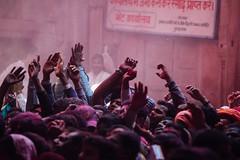Face Peering in Shri Banke Bihari Mandir (AdamCohn) Tags: abeer adamcohn bankebiharimandir hindu india shribankeybiharimandir vrindavan gulal holi pilgrim pilgrimage अबीर गुलाल होली