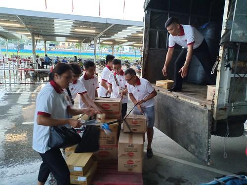 AHF Vietnam Landslide Relief Efforts 2018