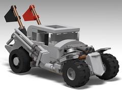 lego Nux's hot rod (mad max fury road) moc (KaijuWorld) Tags: lego moc custom mad max nut hot rod fury road ldd