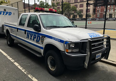 NYPD Emergency Service Squad 1 Pickup Truck, 2004 Ford F-50 (NY's Finest Photography) Tags: highway patrol state nypd fdny ems police law enforcement ford dodge swat esu srg crc ctb rescue truck nyc new york mack tbta chevy impala ppv tahoe mounted unit service squad dcu