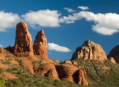 Sedona Redrock (Ed-in-AZ) Tags: redrock sedona colors mountains outdoors hiking bluesky