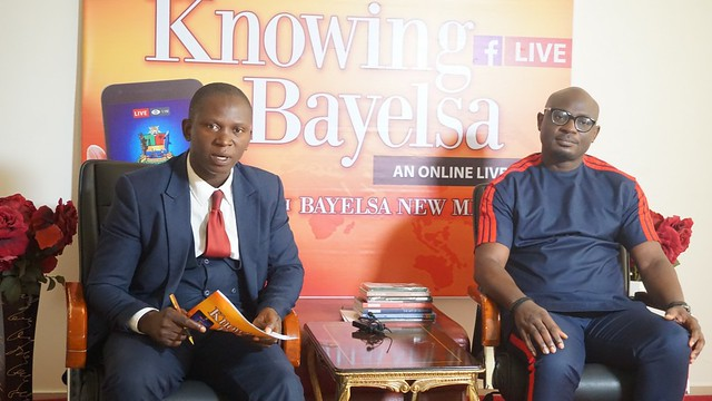 HSDickson - Speech Writer to the Gov of Bayelsa State At the ongoing Knowing Bayelsa Program. 17th August 2018