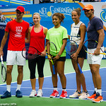 Angelique Kerber, Madison Keys, Novak Djokovic, Rafael Nadal