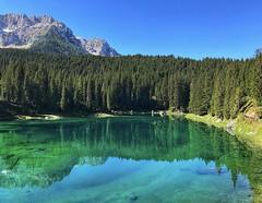 Lake Of Carezza 2018. (tiziano.fiucci) Tags: trentino lagodicarezza lake lago