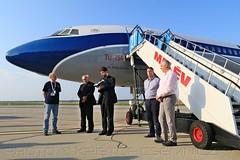 MALÉV TU-154 HA-LCA repülőgépkeresztelő | Dr. Fülöp András | 2018.09.08. (KristofCs) Tags: malev hungarian airlines tu154 ty154 halca christening ceremony ferihegy budapest airport bud