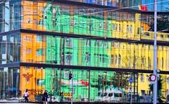 (scefin) Tags: vienna wien street urban city colors colori riflesso architecture
