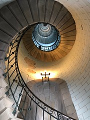 Up to the top (Sibeal's world) Tags: bretagne 2018 phare lighthouse penmarch eckmühl stairs