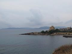 promontorio del palazzo (giòvanna) Tags: sardegna alghero mare orizzonte cielo panorama