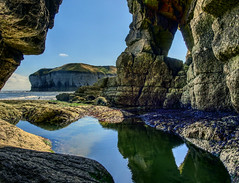 Joe Whitley's Hole (sablott) Tags: uk unitedkingdom england yorkshire eastyorkshire flamborough sea coast cave