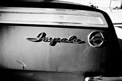 The Impulsive Impala (Thomas Hawk) Tags: chevrolet chevroletimpala chevyimpala dfw dallas impala oakcliff texas usa unitedstates unitedstatesofamerica auto automobile bw car dmudallas012011 emblem fav10 fav25