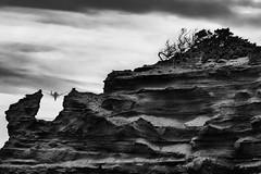 Equilibrium (nicolamarongiu) Tags: biancoenero blackandwhite monocromo natura landscapes scivu monte amaca artwork culla dondolo sardegna sardinia italy