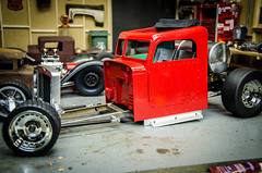 The Wes_Made Peterbilt RCratrod part 4, Paint and Body (Strangely Different) Tags: rceveryday wesmade epacrawlers scaler scalerc tinytrucks hobby rc4wd ratrod rcratrod rcengineering patina peterbilt tamiya axial