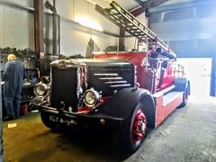 Vintage Dennis Fire Truck (Woolfie Hills) Tags: dennis fire truck krislyn commercials grovesend