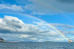 Ferry Baldur (webeagle12) Tags: nikon d7200 europe nature mountain earth planet west iceland clouds westfjords rainbow ferry baldur brjánslækur snæfellsnes