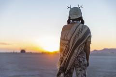Poca at Dawn (jamenpercy) Tags: blackrockcity festival jamenpercy nevada poca burn burningman burningman2018 desert irobot